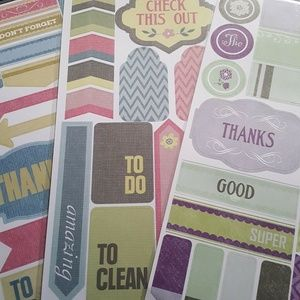 Other - Stickers Planners Bullet Journals Scrapbook